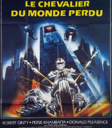 Chevalier du Monde Perdu - Affiche